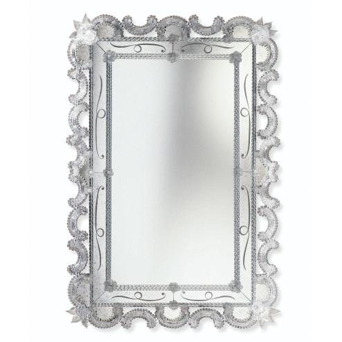 """""""Magda"""" espejo veneciano de cristal de Murano"""