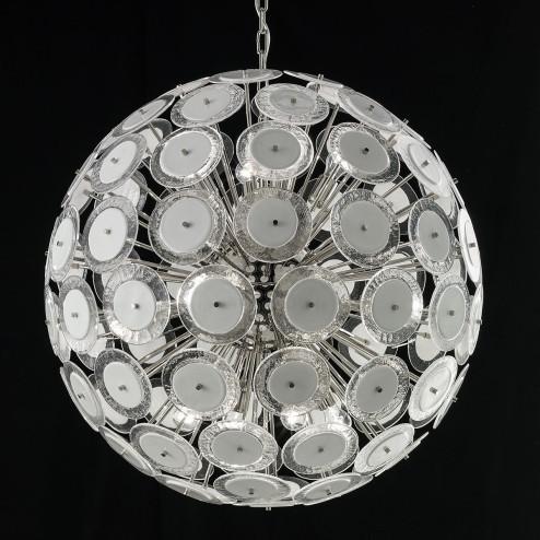 "Custom ""Globo"" Murano glass chandelier"