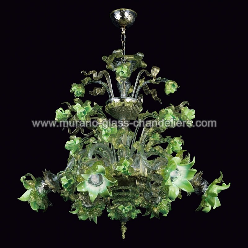 Quot Gladis Quot Murano Glass Chandelier Murano Glass