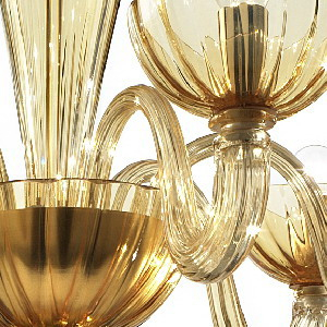 Color guide murano glass chandeliers amber aloadofball Images