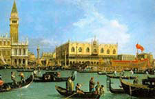 Venice painted by Canaletto